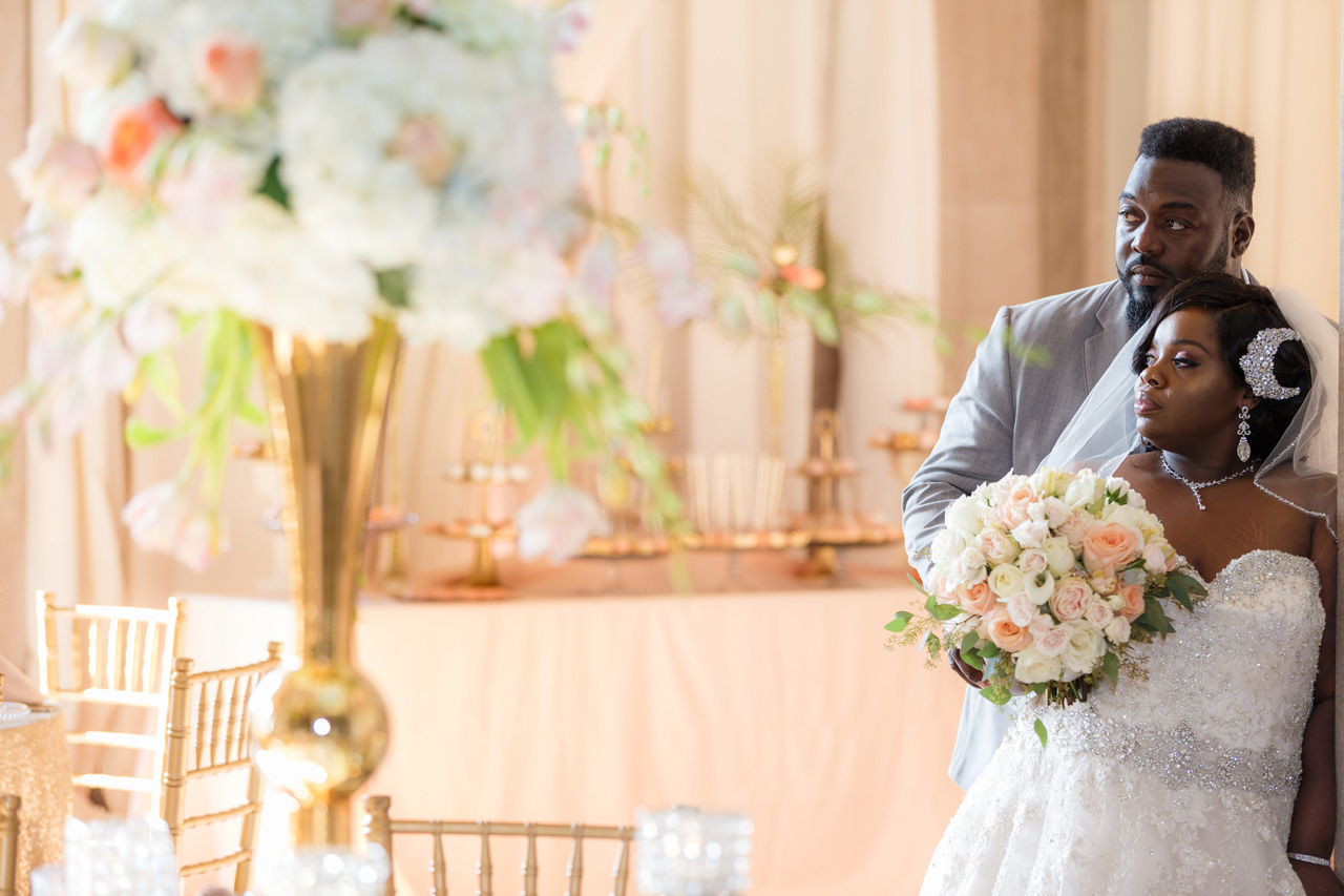 hoskins bride and groom